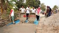 Desa Palaspasemah Prioritas Bangun Jalandan Drainase