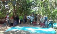Desa Sidomekar, Bangun Jalan Antar Dusun
