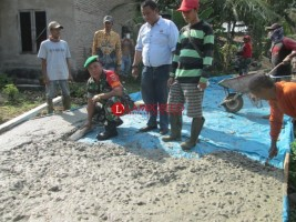 Desa Sukamarga Bangun Infrastruktur dan SDM  dengan Dana Desa