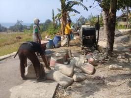 Desa Sukaraja Bangun Empat Jenis Pembangunan Infrastruktur