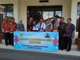 Dewan Pengurus Korpri Bantul Salurkan Bantuan untuk Korban Tsunami di Lamsel