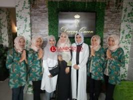 Diarra Queen Hadir Percantik Wanita Lampung