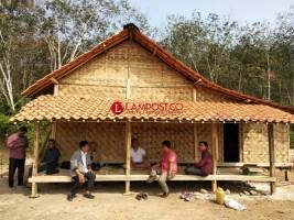 Dibangun di Panaragan, Beginilah Wujud Rumah Adat Suku Baduy