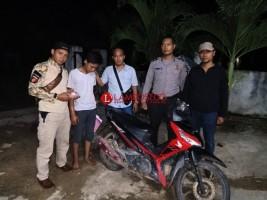 Dicari Polisi, Pelaku Penggelapan Motor Serahkan Diri