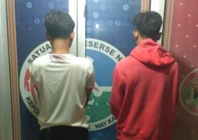 Diduga Edarkan Sabu, 2 Warga Blambangan Umpu Diringkus Polisi
