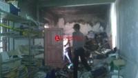 Diduga Korsleting Listrik, Gudang Berkas Lama BRI Unit Palas Terbakar