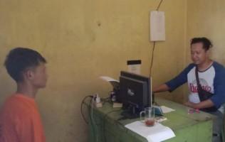 Diduga Rampas Ponsel, Pemuda Ini Diamankan Jajaran Polsek Gadingrejo