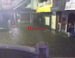 Diguyur Hujan Semalam, Lebakanyar Enggal Terendam Banjir hingga Setengah Meter