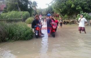 Diguyur Hujan, Warga Sragi Diminta Waspada Banjir
