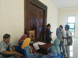 Dinas PUPR MesujiGelar Rapat Tertutup