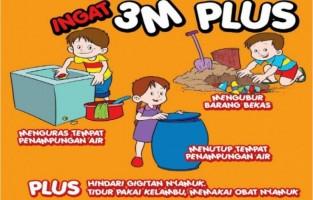 Dinas Kesehatan Way Kanan Imbau Warga Basmi Sarang Nyamuk
