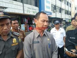 Dinas Perdagangan Tertibkan Pedagang di Lahan Parkir Pasar