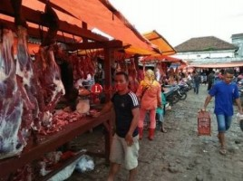 Dinas Pertanian Kota Jamin Stok Daging dan Ayam Aman