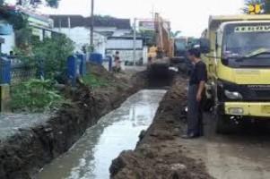 Dinas PU Bandar Lampung Anggarkan Rp3 Miliiar untuk Perbaikan Drainase