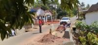 Dinas PU Perbaiki Gorong-gorong  di Kelapatujuh