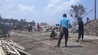 Dinas PUPR Pesisir Barat Kebut Perbaikan Jalan Darurat di Pekon Mandirisejati