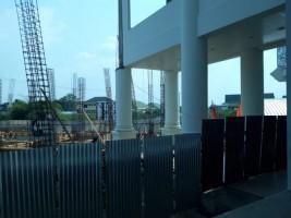 Dinas PUPR Pringsewu Lanjutkan Pembangunan Kantor DPRD