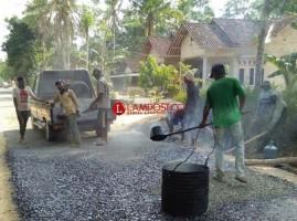 Dinas PUPR Tubaba Lelang Proyek Peningkatan Jalan Senilai Rp19,1 Miliar