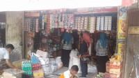 Dinkes-BPOM Monitoring Makanan Kemasan di Pasar Tradisional Lampura