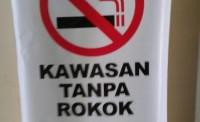 Dinkes Lampura Sosialisasikan Perda Kawasan Tanpa Rokok