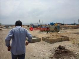 Diprotes Warga, Pembangunan Waterboom di Merakbelantung Terhenti