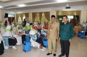 Direktur Perjalanan Haji Kunjungi JCH di Asrama Haji