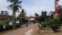 Diresmikan, Gerbang Desa Kotaagung Tonjolkan Kearifan Lokal