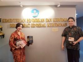 Dirjen Kebudayaan Terima Film Dokumenter Tapak Lampung