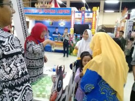 Disbunnak Sediakan Pangan Hewani Gratis di Lampung Fair