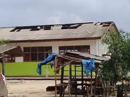 Disdikbud Lampura Usulkan Perbaikkan Gedung Sekolah Terdampak Puting Beliung
