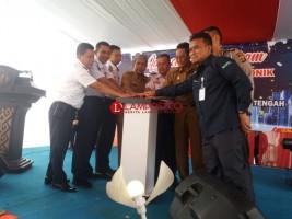 Dishub Lamteng Luncurkan Uji Kendaraan Online Pertama di Sumatera