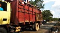 Dishub Tubaba Tak Berwenang Larang Truk Bertonase Besar Lintasi Jalur Lingkar Kota