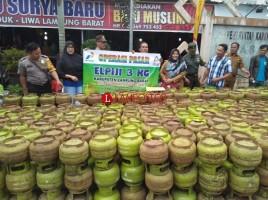 Diskoperindag Lampung Barat Gelar OP Elpiji 3 Kg