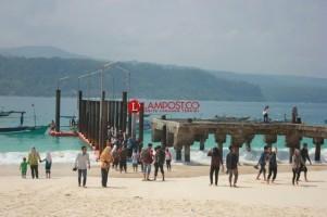 Disparbud Lamsel Bekerja Sama dengan OJK Pulihkan Pariwisata Pascatsunami