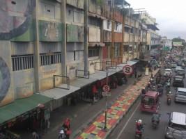 Disperkim Bandar Lampung Rencanakan Pengecatan Ruko Usang