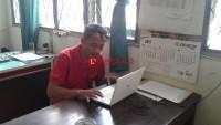 Distan Lampura Terima Bantuan Perbaikan Pintu Saluran Irigasi Rp140 Juta