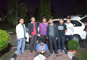 Ditangkap, Pemalak Sopir Truk di Jalan Pertigaan Kotabumi Ilir