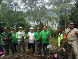 Ditetapkan Sebagai Kabupaten Konservasi, Lambar Gelar Aksi Tanam Pohon