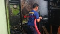Ditinggal ke Sawah, Rumah Warga Terbakar