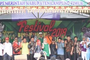 Dongkrak PAD, Pemkab Lamtim Gelar Festival Bulan Bhakti