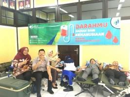 Peringati HUT Ke-41, BPJSTK Bandar Lampung Gelar Donor Darah