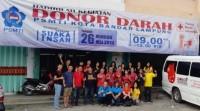 Donor Darah PSMTI Bandar Lampung Kumpulkan 170 Kantong Darah