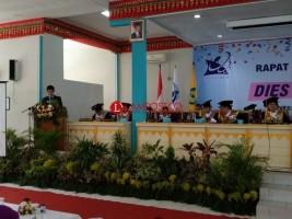 Dosen Komputer Unila Kenalkan Aplikasi Aksara Lampung Digital Pada Dies Natalis ke-53 Unila