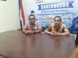 DPD Nasdem Lampura Laporkan Dugaan TSM PPK Abung Selatan