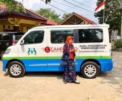 DPPPA Lamsel Dapat Bantuan Mobil