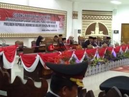 DPRD Bandar Lampung Gelar Paripurna Dengarkan Pidato Kenegaraan Presiden