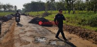 DPRD dan PPTK Desak Rekanan Hotmix Gunungkatun Perbaiki Pekerjaan