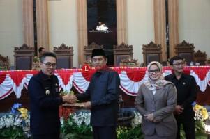 DPRD Kabupaten Lamtim Sahkan APBD-P 2019
