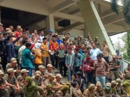 DPRD Lampung Terima Aspirasi Peserta Aksi