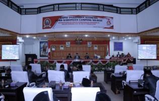 DPRD Lamsel Sidang Paripurna Istimewa Dengarkan Pidato Presiden RI